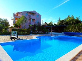Apartment in Zaton with pool, A1