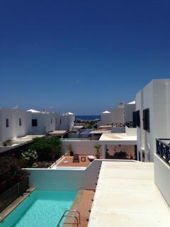 Vista terraza habitación