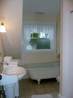 Bathroom with Soaking Tub and separate Shower