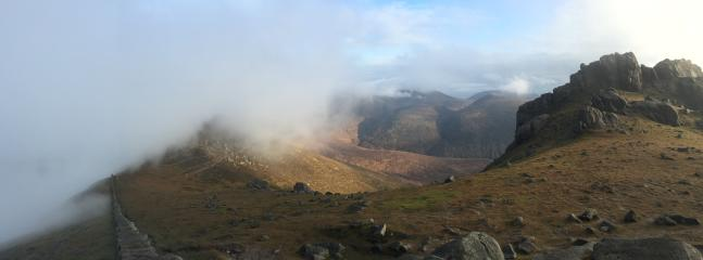 Mourne Mountains - Mourne Wall, Slieve Bearnagh
