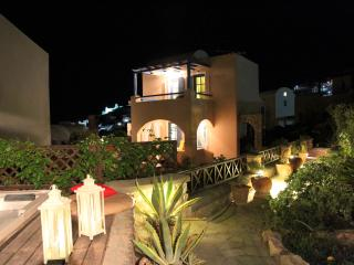 Enjoy the Jacuzzi  and Garden area at night time !