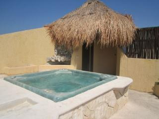 PRIVATE BEDROOM with Pool Jacuzzi A.A. in center, Playa del Carmen