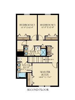W - Floorplan - Second Floor