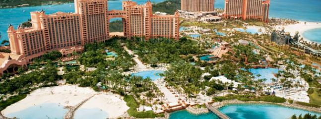 Atlantis 10 minute drive away