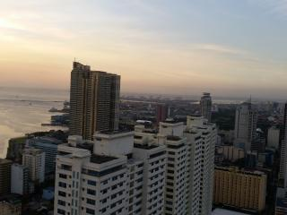 Stunning view at 43rd floor, Manila