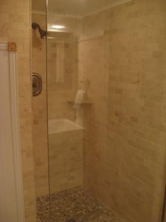 Bathroom views - walk-in shower