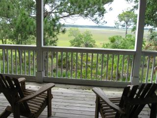 Fripp Island,Beautiful Marsh House,golf cart incl.