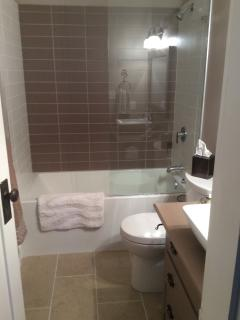 Main bathroom completely updated Jan 2105 soaker tub