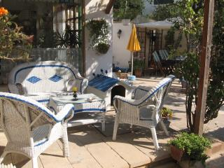 Relaxing or Sipping a Cool drink in the Garden Shade! in Summer of course!!