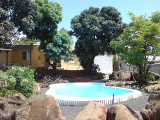 Bungalow avec piscine à l'eau de mer