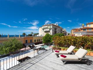 SALEYA - Luxury flat with big terrace & sea view, Nice