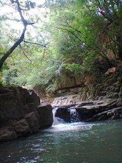 un bagno al fiume