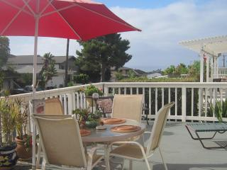 Shabby Chic Beach Flat Ocean view from large deck STR 18-0858 City of Dana Point