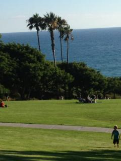 Salt creek beach with park and picnic area