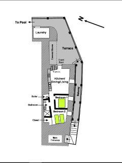 Casa Camelia Floor Plan.