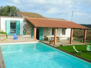 country villa with pool, Carloforte
