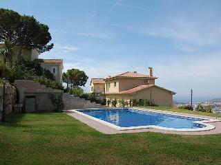Villa overlooking the sea and Lloret de Mar