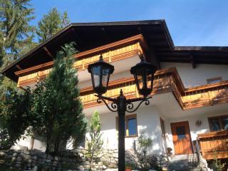 Urlaub in den Bergen von Tirol Österreich, Weidach