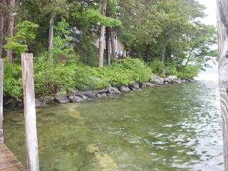 Private boat launch on Winnipesaukee (WAL35Wf)