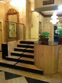 Art Deco lobby.