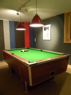 Pool / games room