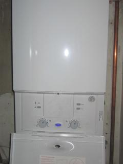 new central heating boiler