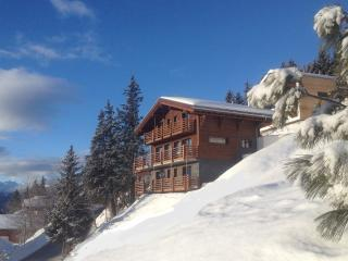 Luxury chalet, centre ski resort, views, catering, Anzere