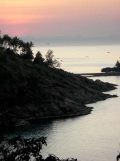 Koh Ma Area at Sunset, about 10 min drive from villa
