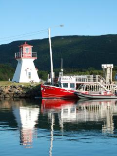 Pleasant Bay Harbour where you may enjoy whale tours daily
