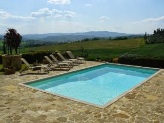 4 bedroom Villa in Poggibonsi, Chianti, Tuscany, Italy : ref 2293922