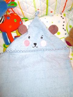 Baby towel.