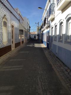 one of the quaint streets in Cananas