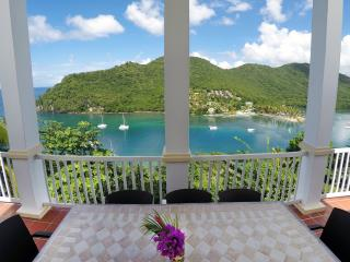 Featuring an incredible panoramic view of the bay below...
