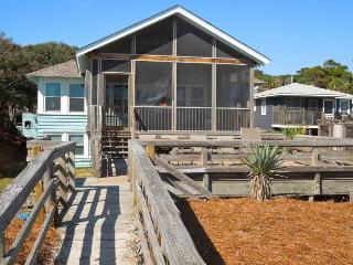 Folly Rhodes on the Beach - Upstairs - Folly Beach, SC - 3 Beds BATHS: 2 Full