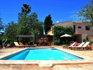 Sa Bassa, modern Majorcan style house for 8 people, Porreres