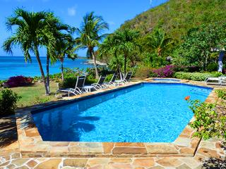 Beach Dreams at Mahoe Bay, Virgin Gorda - Beachfront, Large Fresh Water Pool, Jacuzzi