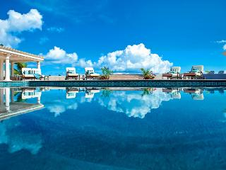BEAU RIVAGE...well designed beachfront villa provides exceptional vistas of Baie Rouge, the Caribbean and the Island of Anguilla., St. Maarten