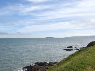 View to Howth and Ireland's Eye island