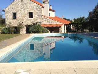Stone Farmhouse with private pool in small village
