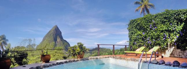 Relax by the pool to catch some rays, enjoy the view, and take a dip when it gets hot...