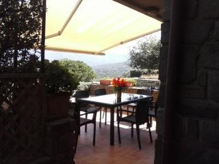 Villetta a schera panoramica a 360°