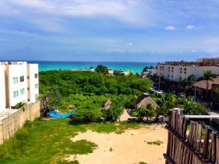 Precioso ático en la playa, vista al mar, Playa del Carmen