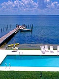 Pool and boat dock