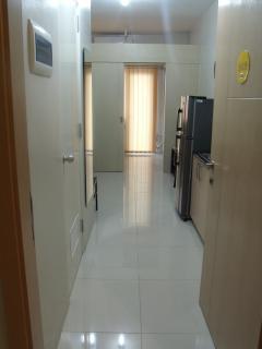 Condo's front door on 24th floor