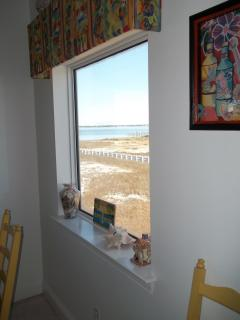 View of Sound from Dining area