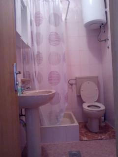 B1 Lođa (2+1): bathroom with toilet