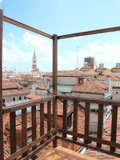 Views from Altana Albachiara Saint Mark's Bell Tower and Dome