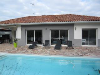 villa avec piscine privée proche océan, Labenne