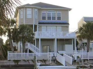 Canal Waterfront-5br-5ba- Golf Cart 46 Pender, Ocean Isle Beach