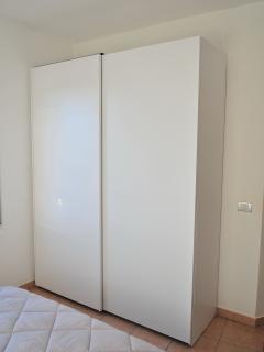 Large wardrobe in master bedroom